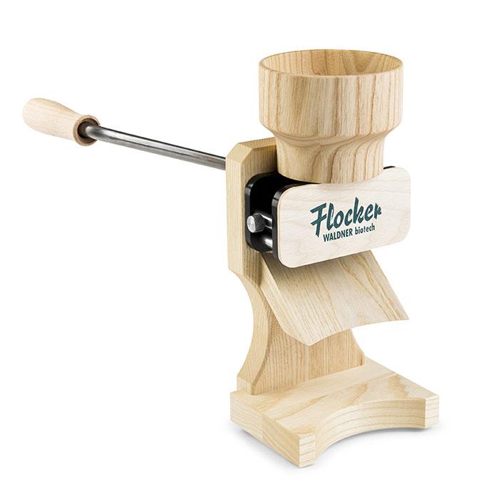 Flocker – Hand Driven Grain Roller