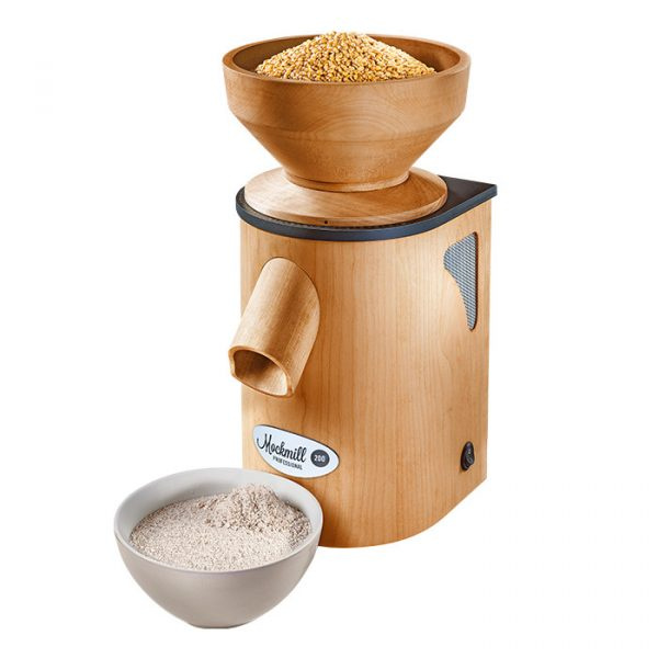 Mockmill 200 Pro - Side View - Grain Mill - Mockmill Australia