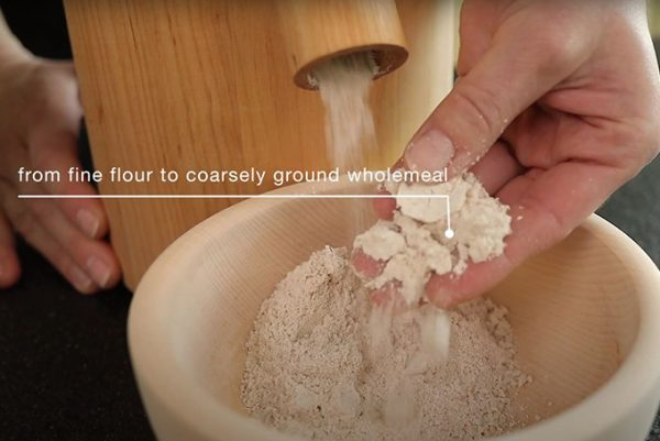 Stone Grain Mill Australia - Electric - Single - Waldner Biotech - flour milling view