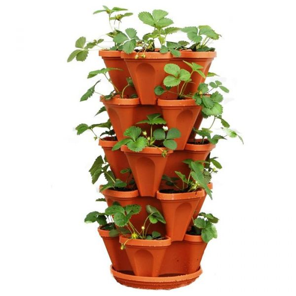 Vertical Garden Planters - Terracotta