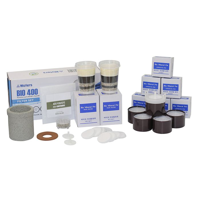 Waters Co BIO 400 & 500 Benchtop Water Filter - Filter Set